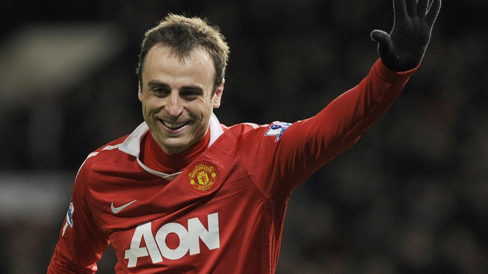 Dimitar Berbatov in his days with Manchester United