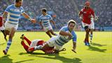 Impressive Argentina brush aside Tonga in a 45-16 win