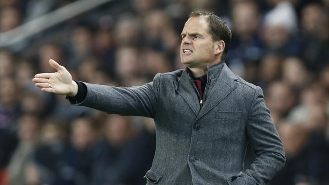 De Boer suffers Achilles tendon injury