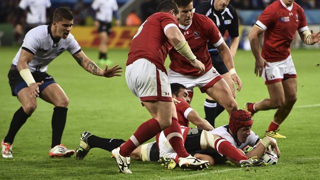 Fiyi y Rumanía logran por fin sus primeras victorias