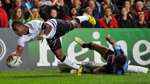 Même si l'Uruguay n'a pas démérité, les Fidji se sont baladés