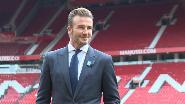Douze ans après, Beckham va fouler à nouveau la pelouse d'Old Trafford
