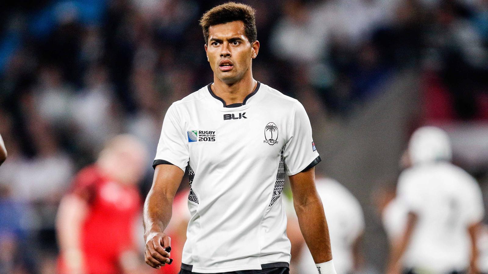 Ben Volavola, l'ouvreur des Fidji, peu en réussite au pied