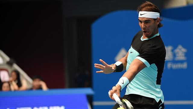 Tennis : Nadal a d� batailler ferme pour retrouver une demie sur dur