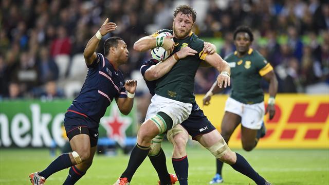 Il Sudafrica spazza via gli Stati Uniti e vola ai quarti