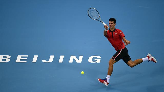 Tennis : Djokovic exp�ditif face � Zhang