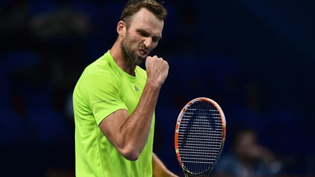 Карлович выполнил 75 эйсов за матч и побил рекорд Australian Open