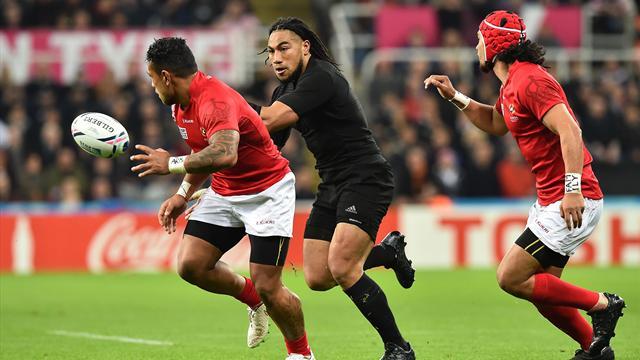 Nueva Zelanda-Tonga: Paliza sin paliativos para acabar primera de grupo (47-9)