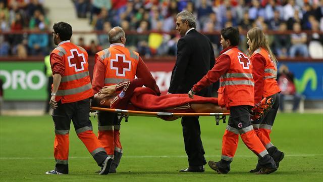 Sorti sur blessure, Morata pourrait souffrir d'une fracture du péroné