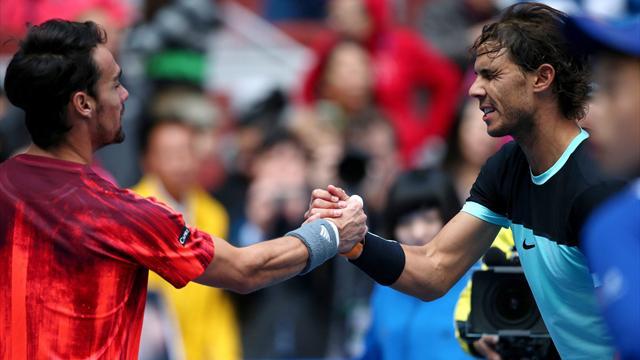 Masters 1.000 Roma, Nadal-Fognini: Rivalidad, tensión y más que palabras (12:00)