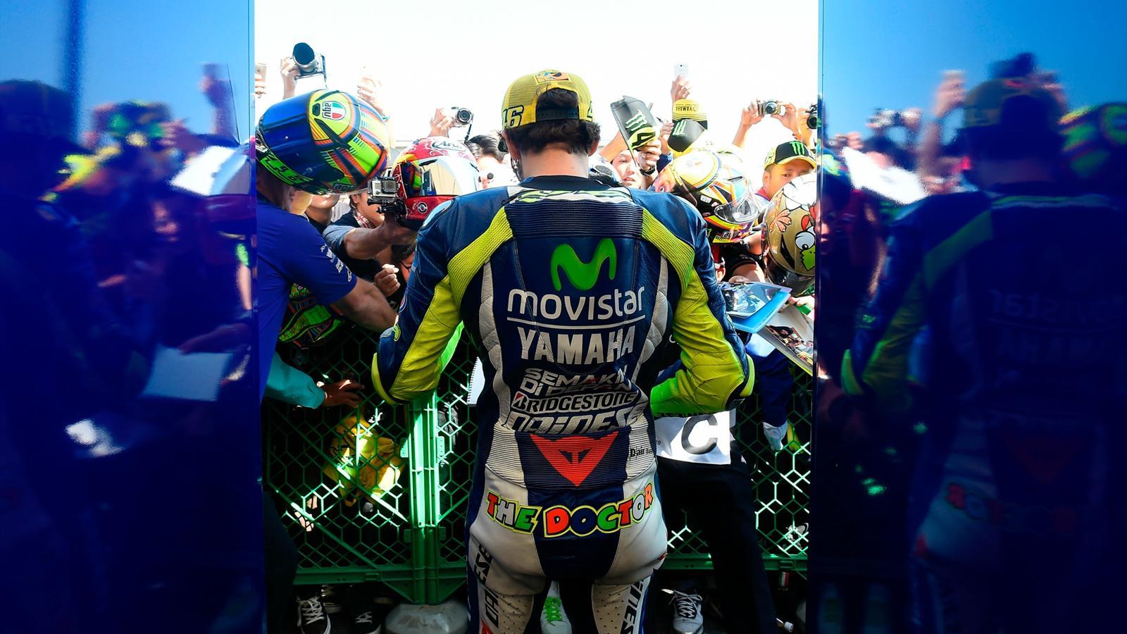 Valentino Rossi (Yamaha Factory) - GP of Japan 2015