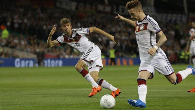 Pour faire le bonheur de l'Allemagne, il faut un point et des buts