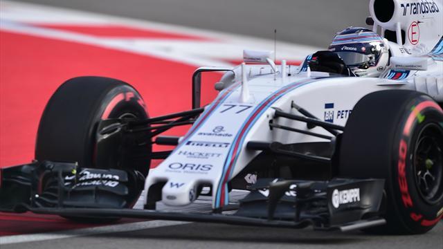 Bottas satisfait, Massa peste contre le trafic