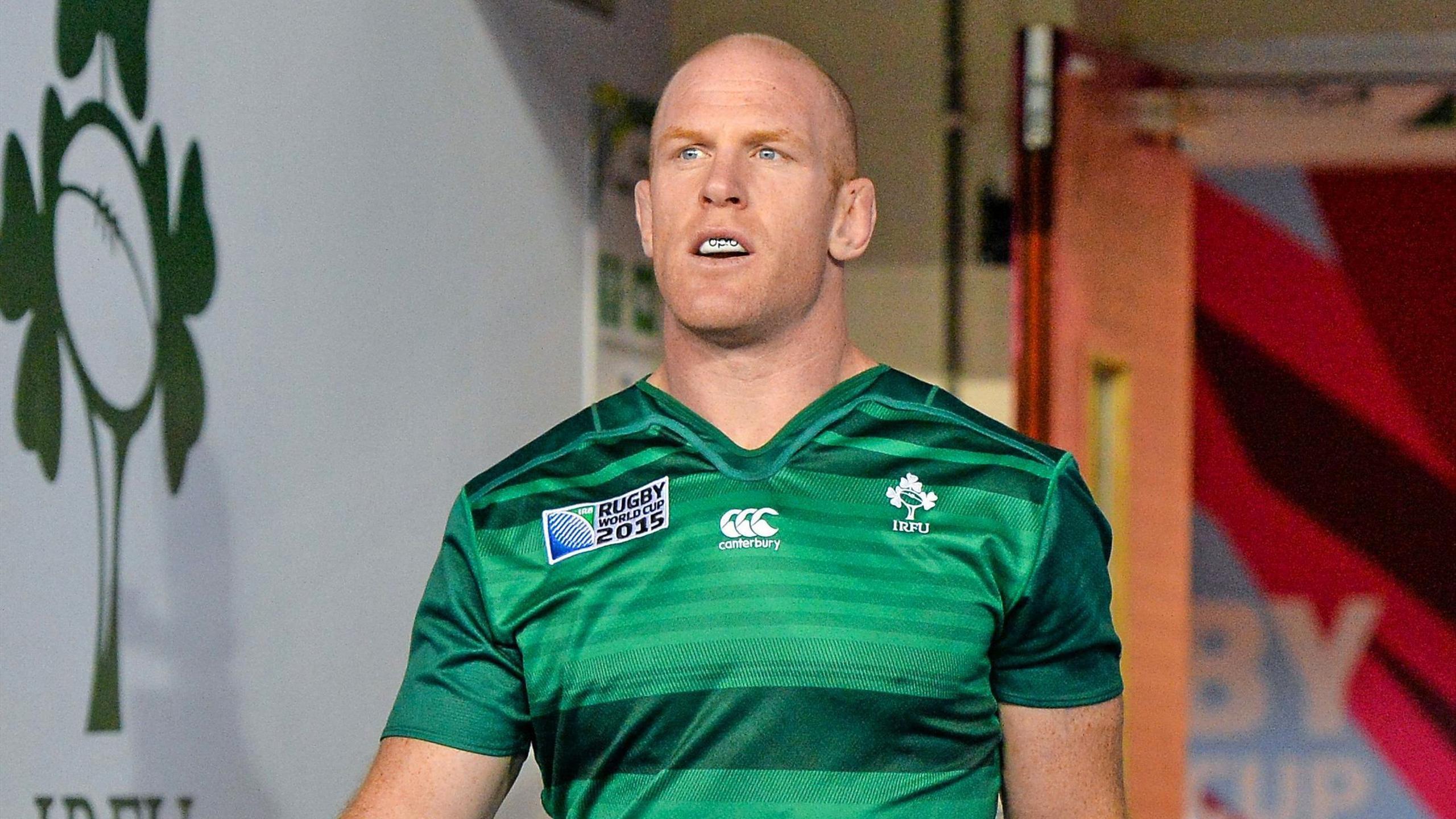 Paul O'Connell (Irlande) - 10 octobre 2015