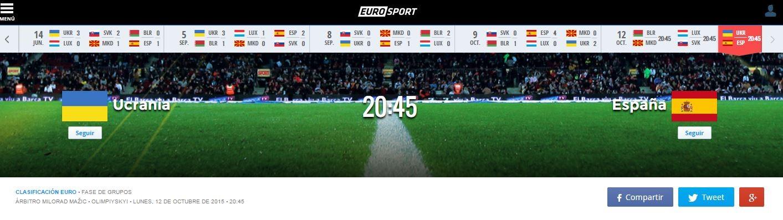 En directo: Ucrania vs España