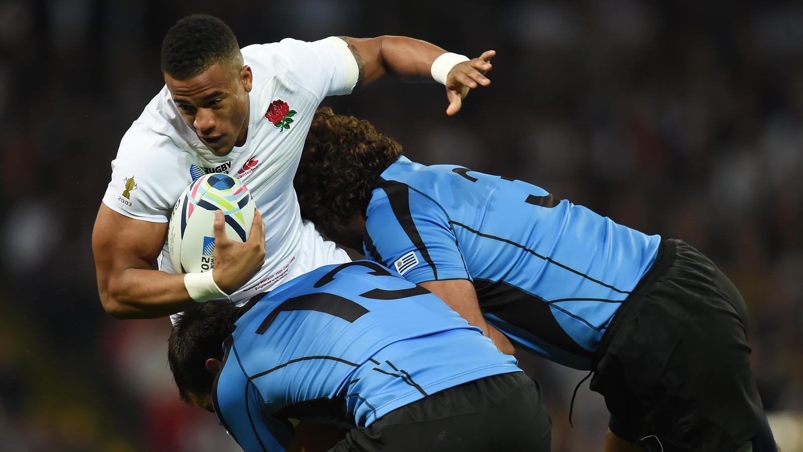 Anthony Watson (Angleterre) face à l'Uruguay - 10 octobre 2015