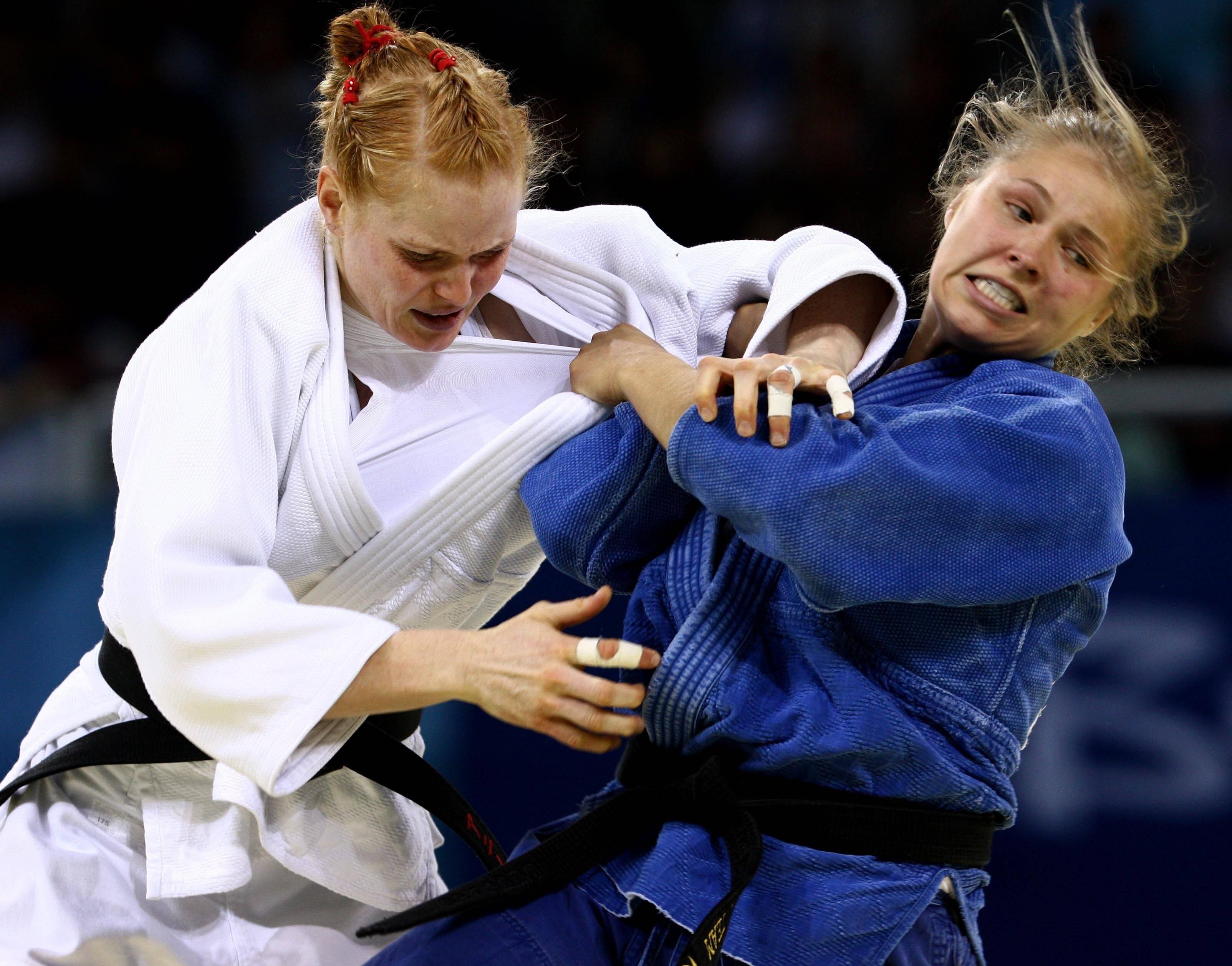 Ронда Роузи на Олимпиаде-2008