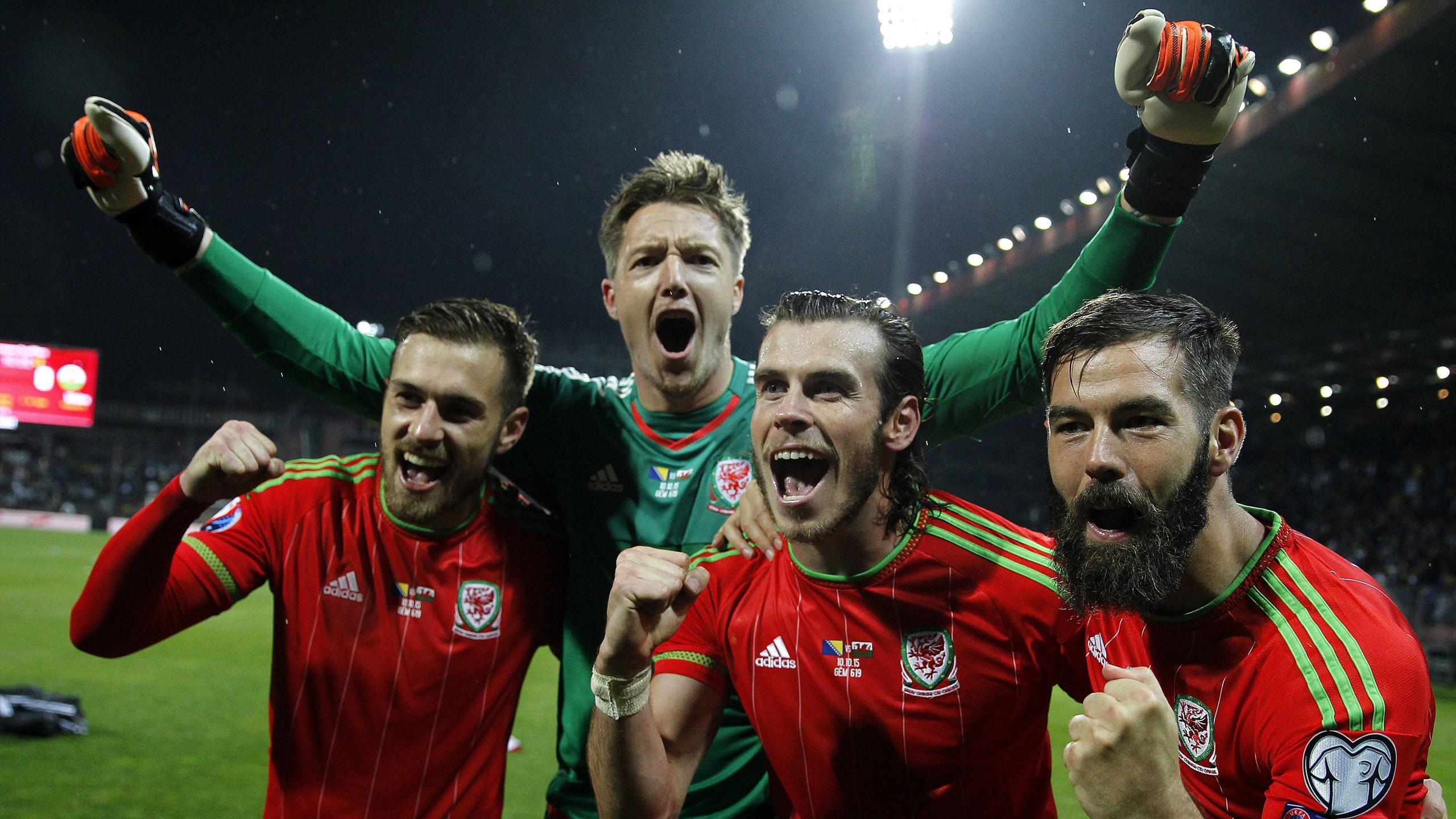 Wales feiert seine erste EM-Teilnahme