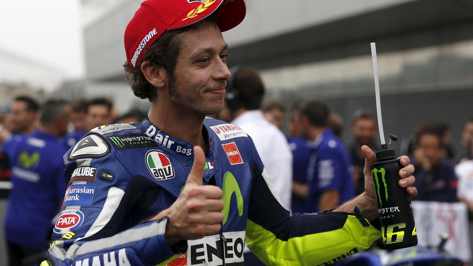 """Rossi: """"Guadagnati punti su Lorenzo: obiettivo raggiunto"""""""