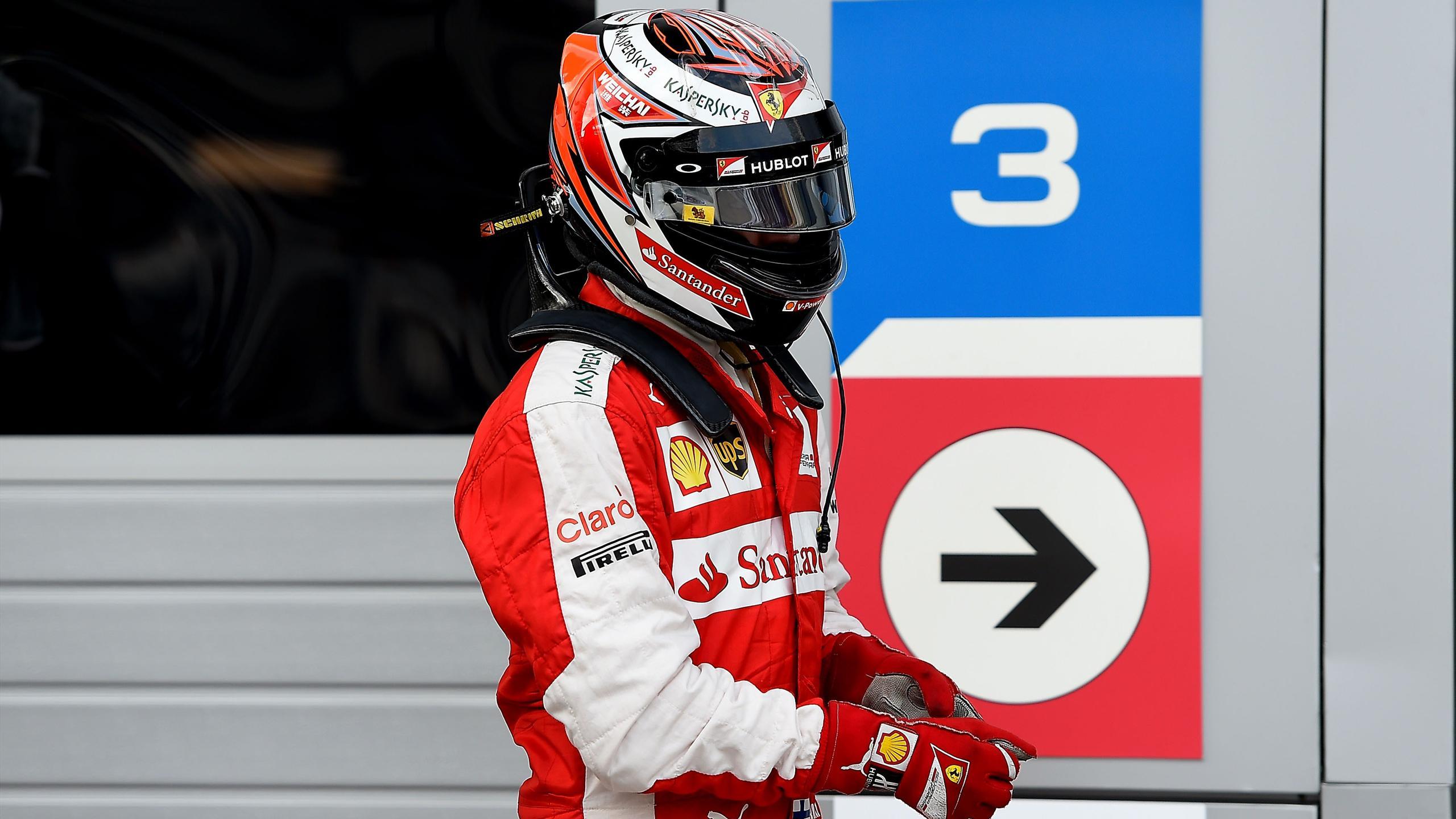 Kimi Räikkönen (Ferrari) - GP of Russia 2015
