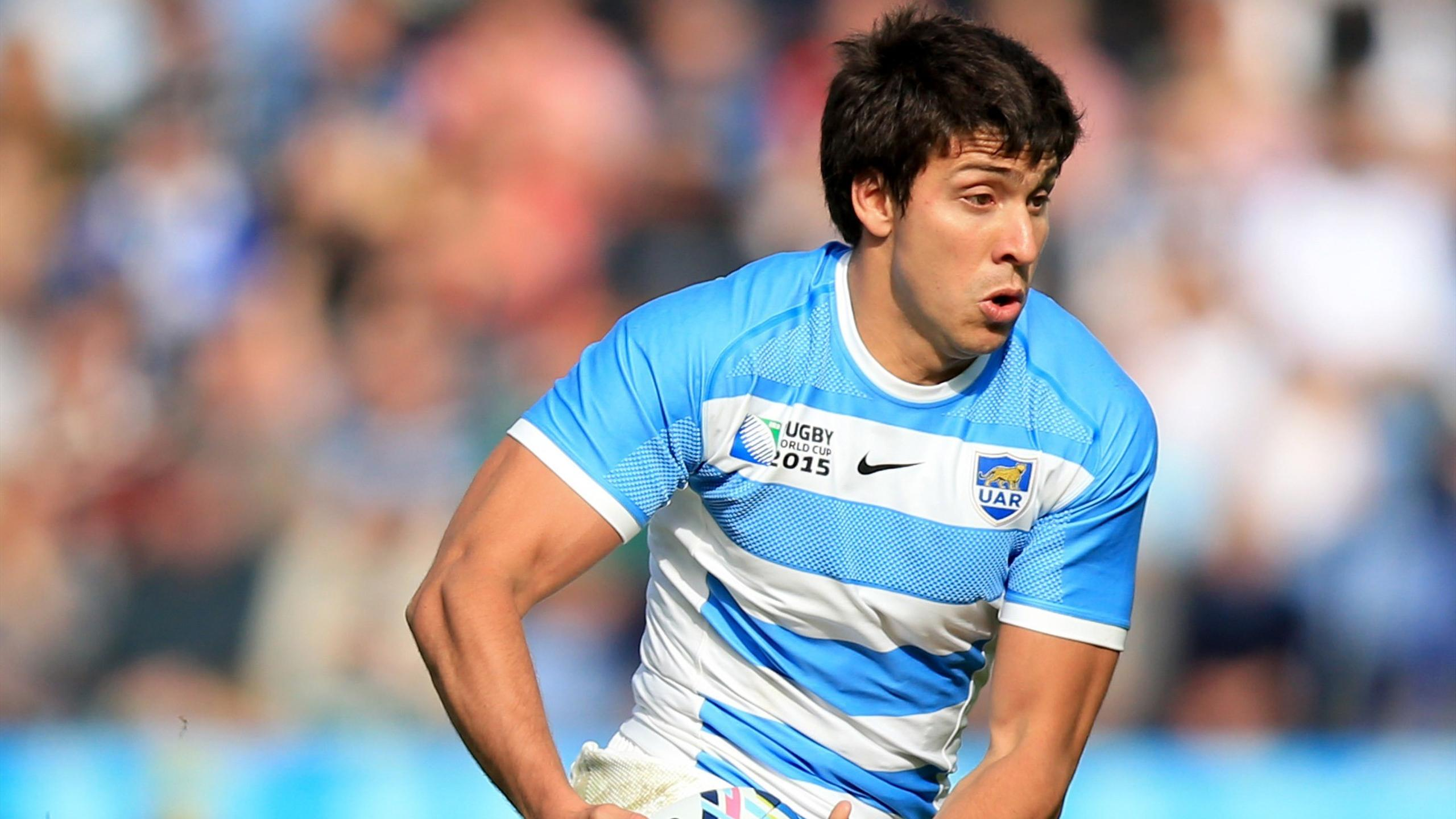 Lucas Gonzalez Amorosino - Arrière de l'Argentine - Argentine-Namibie - 11 octobre 2015