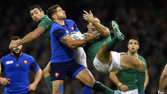 L'Irlanda stritola la Francia ed evita la Nuova Zelanda