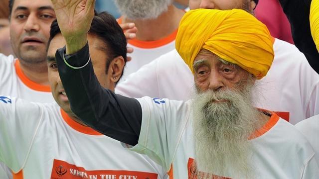 Kein Tag wie jeder andere: 100-Jähriger verbessert acht Weltrekorde