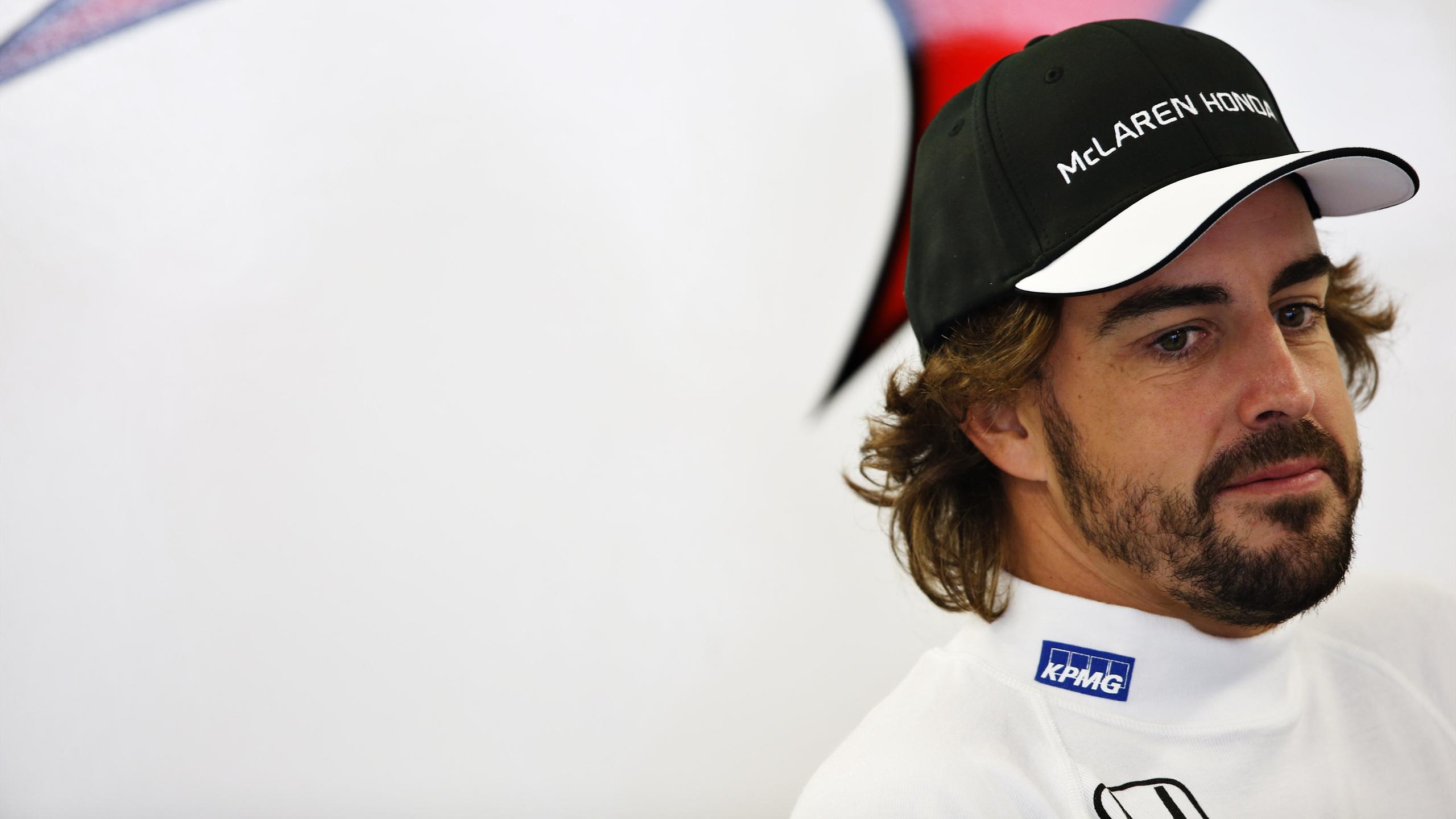 Fernando Alonso (McLaren) au Grand Prix de Russie 2015