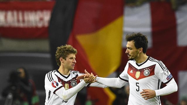 Qualifiées, l'Allemagne et la Pologne font le job