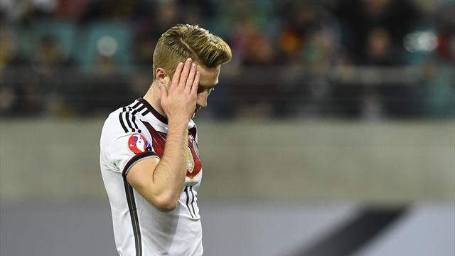 Après le Mondial en 2014, Reus va manquer l'Euro à cause d'une blessure