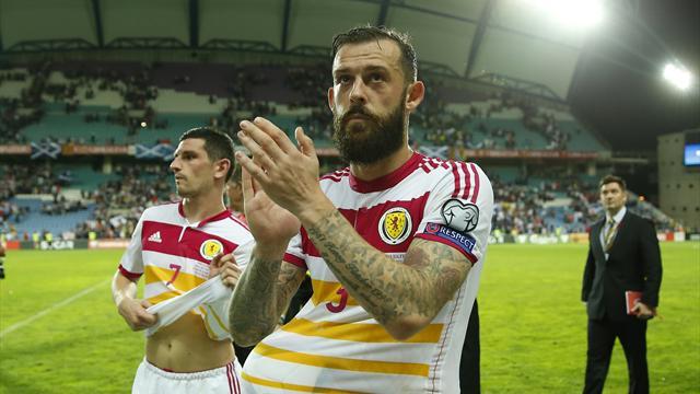 Fletcher bags hat-trick as Scotland rout Gibraltar