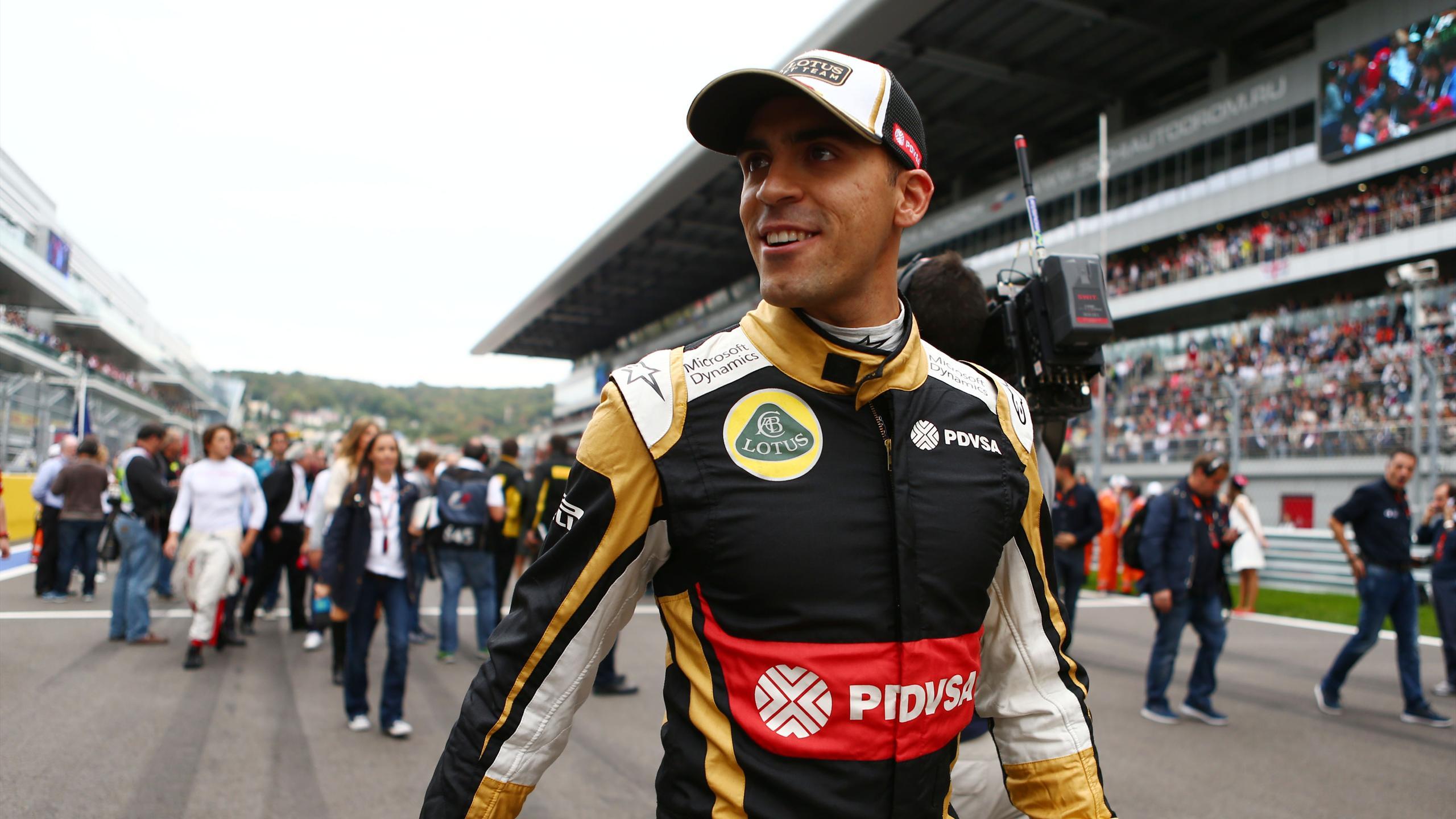 Pastor Maldonado (Lotus) - GP of Russia 2015
