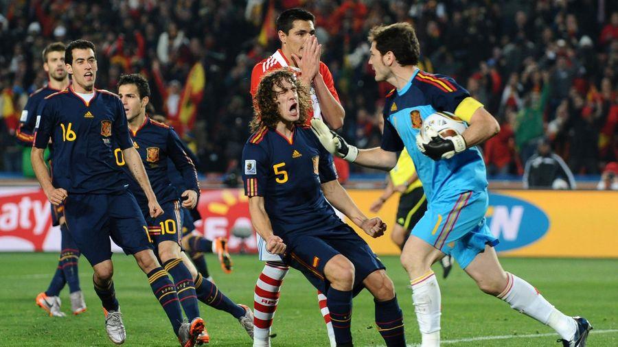 Le Paraguay avait buté sur Iker Casillas et l'Espagne au Mondial 2010