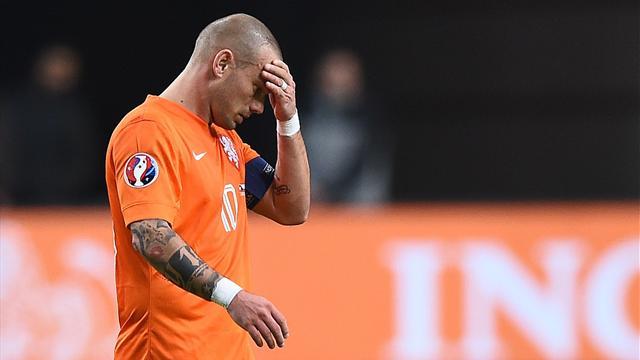 Wesley Sneijder: Boşlukta gibiyim