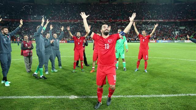 La Turquie est à l'Euro au bout de la nuit, la Croatie a doublé la Norvège