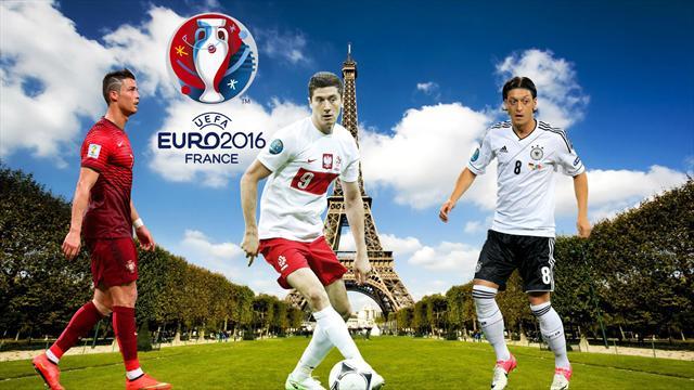 İşte Euro 2016'da maç tarihleri
