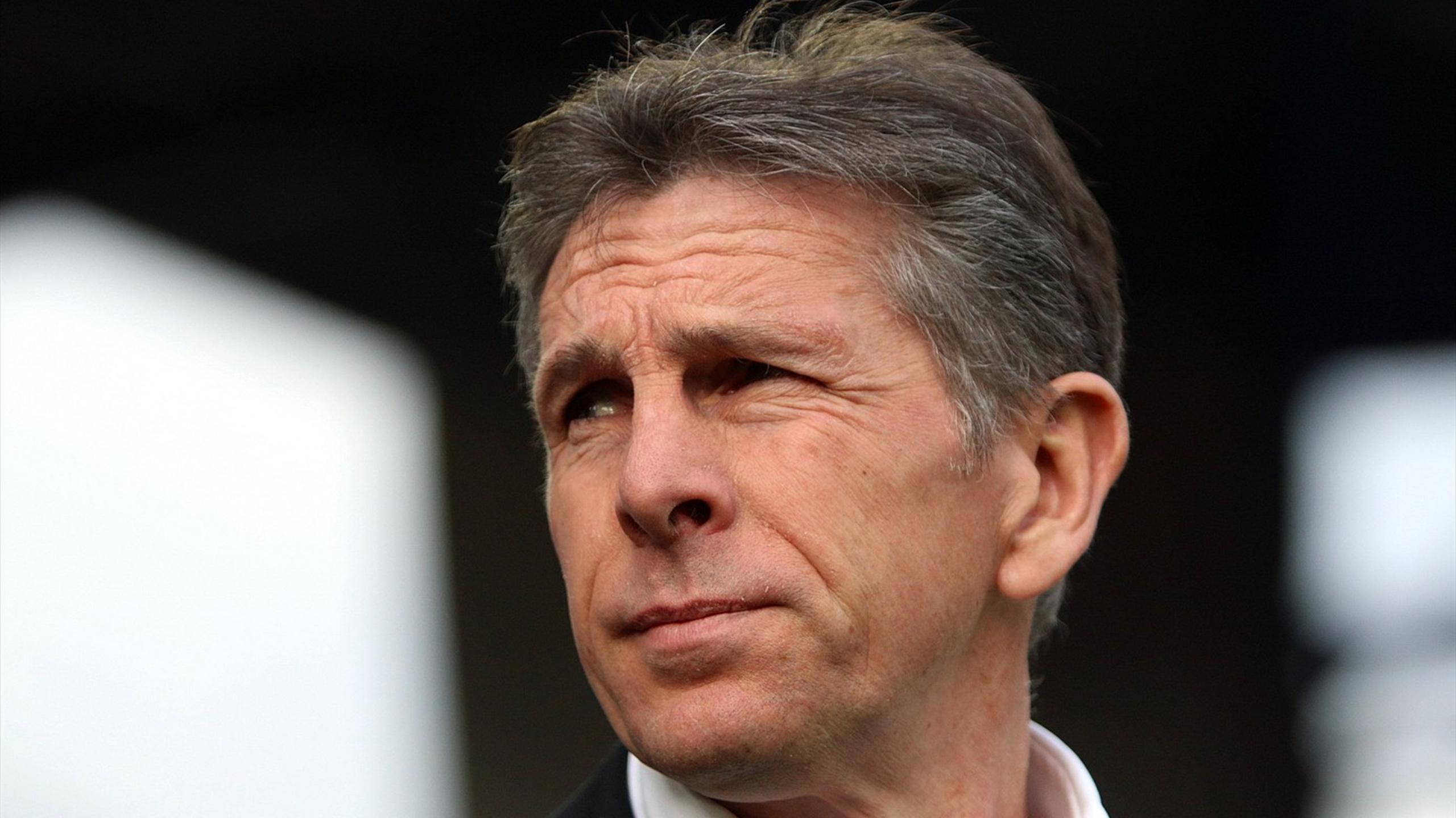 Claude Puel, entraîneur de l'OGC Nice