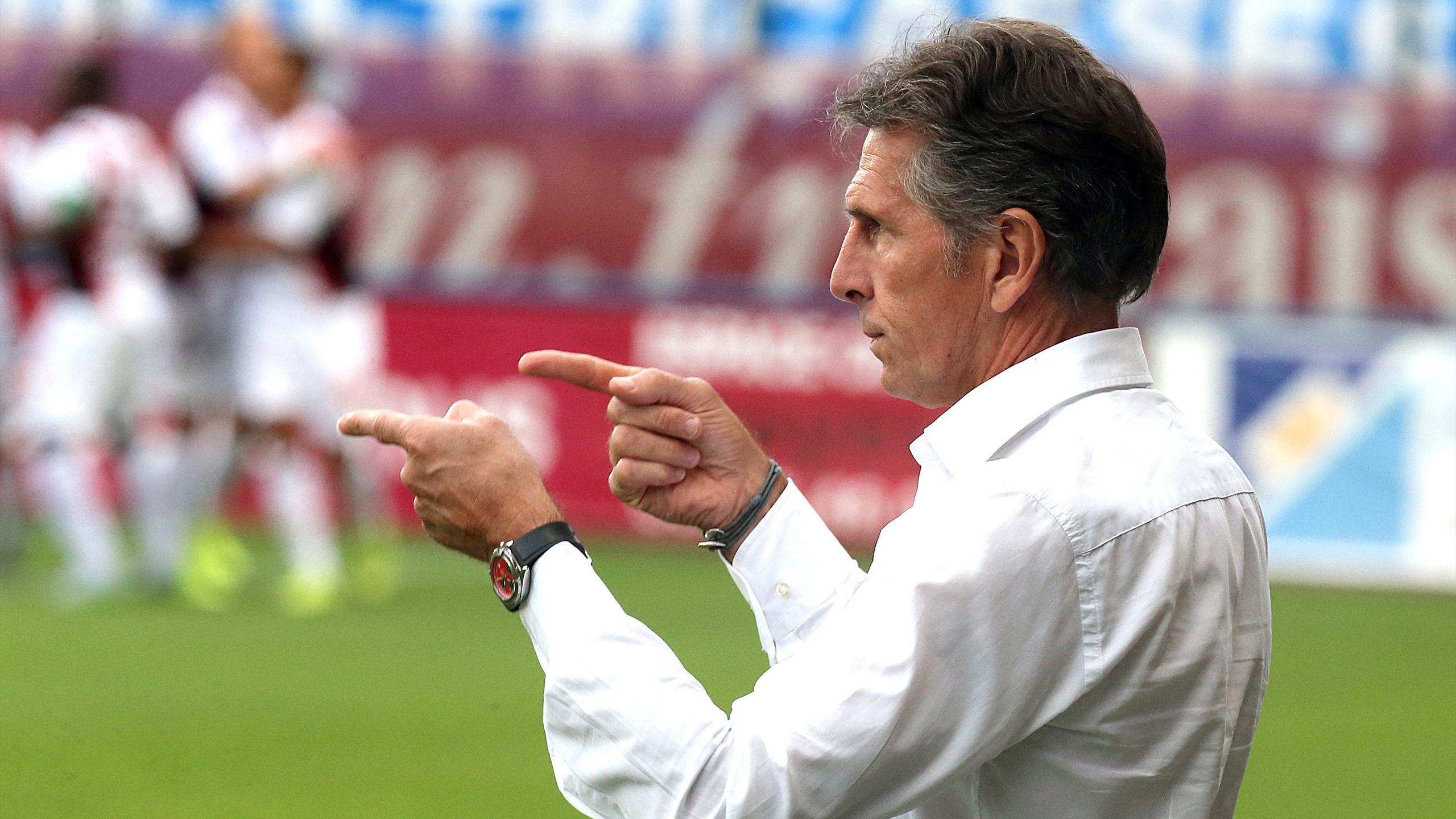 Claude Puel, entraineur de Nice