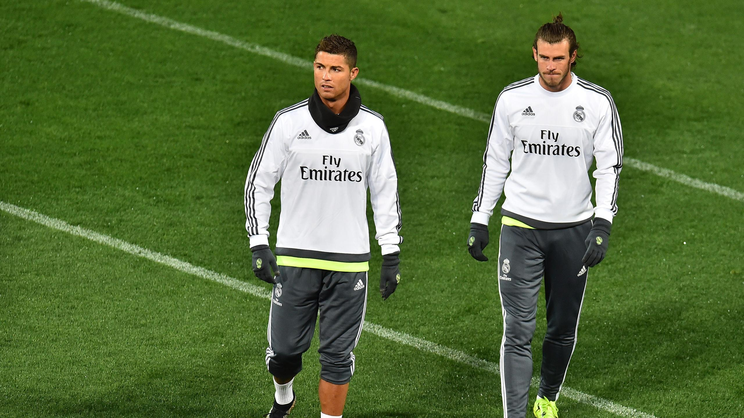 Real Madrid - Cristiano Ronaldo - Gareth Bale