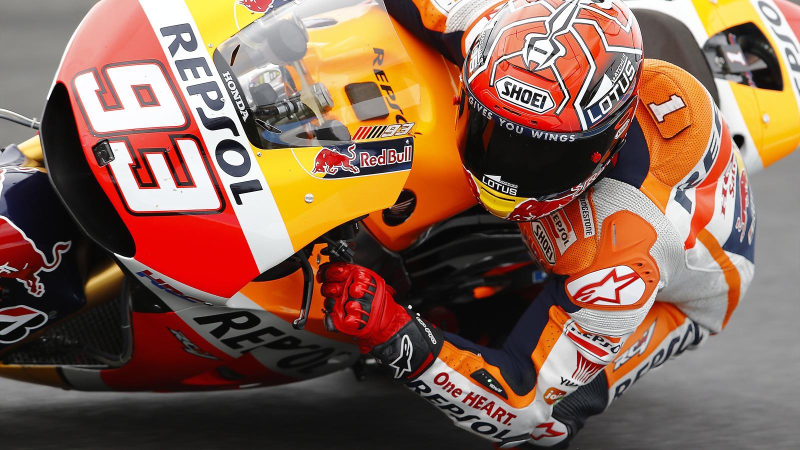 Marc Marquez (Honda HRC) au Grand Prix d'Australie 2015