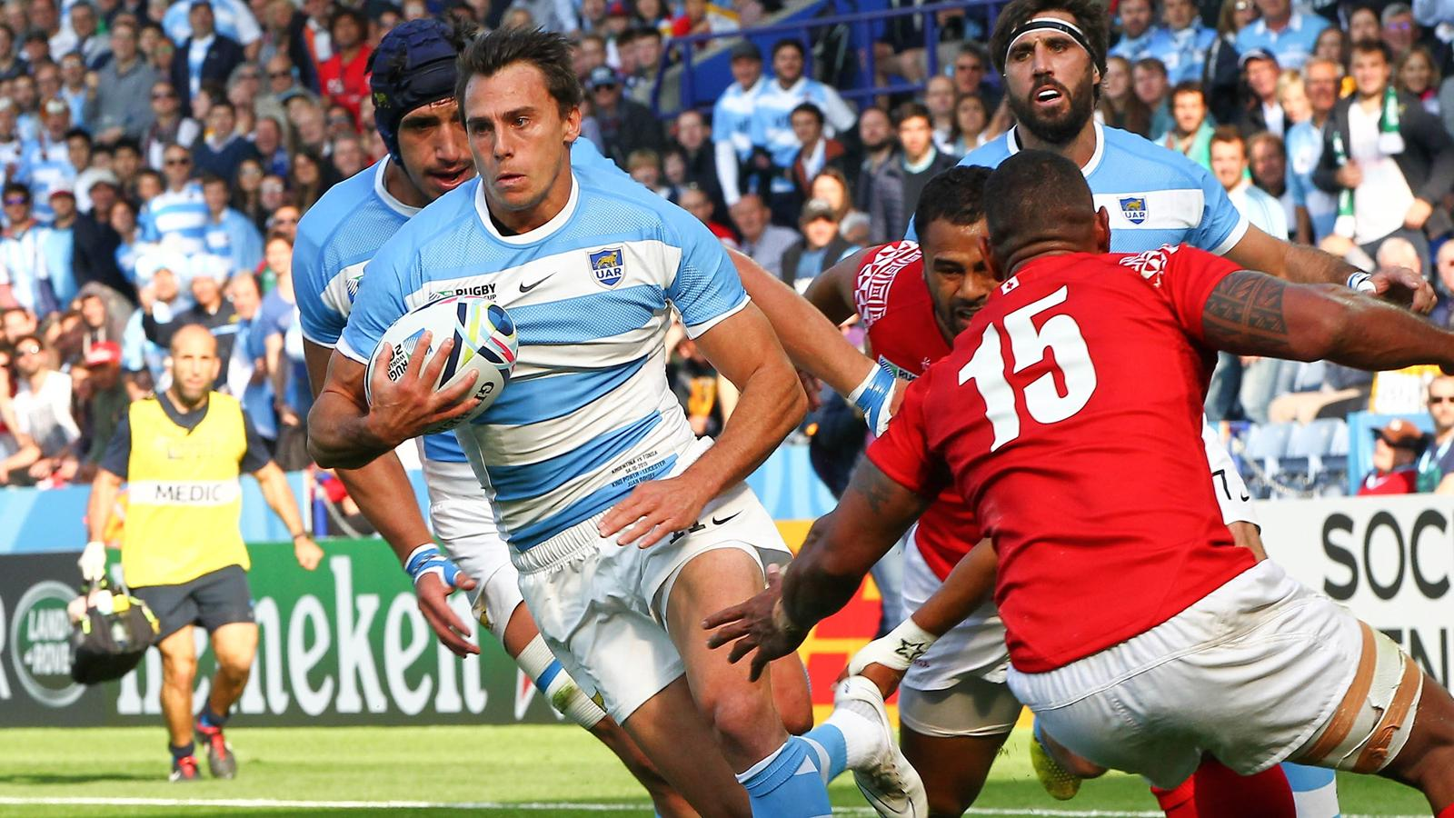 Juan Imhoff - Ailier de l'Argentine - 4 octobre 2015