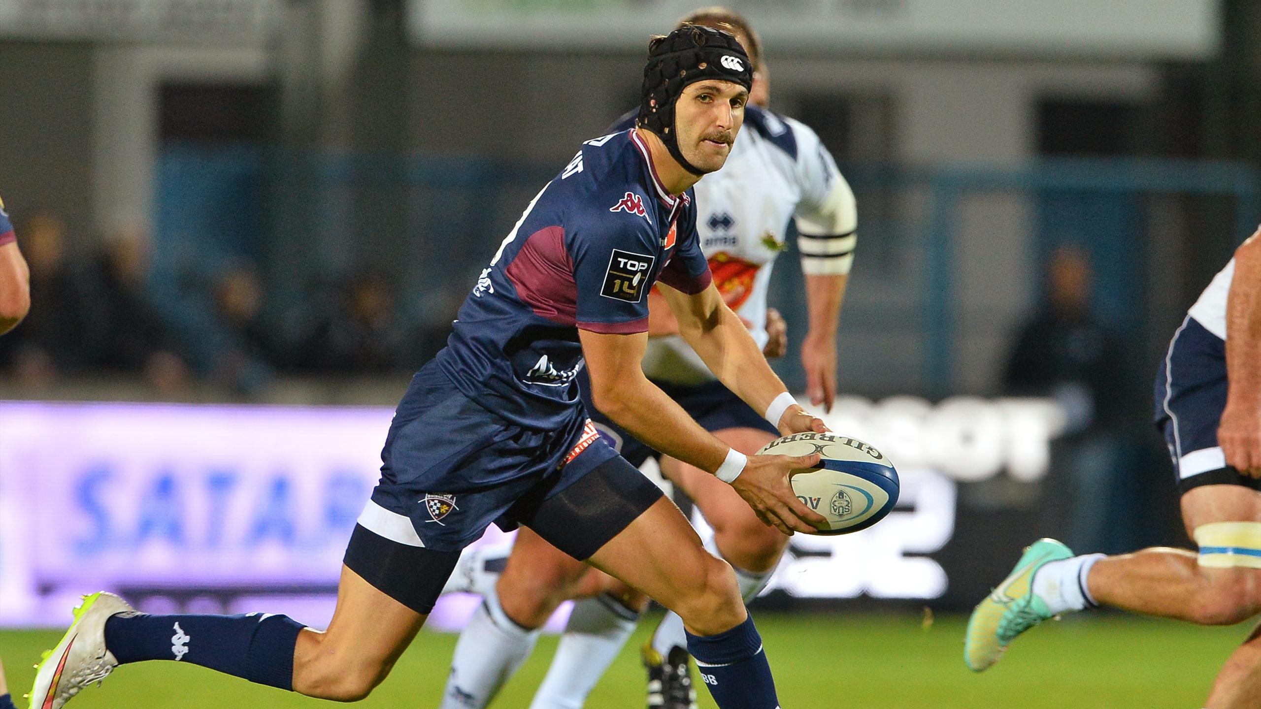 Romain Lonca (Bordeaux-Bègles) face à Agen - 16 octobre 2015