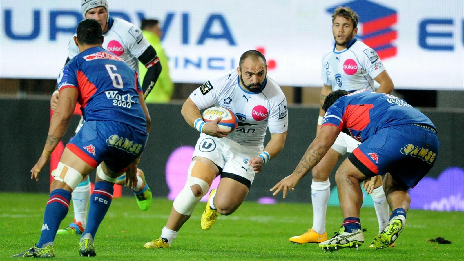 Mikheil Nariashvili (Montpellier) face à Grenoble - 16 octobre