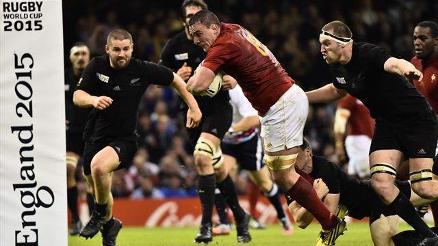 Il Sudafrica schianta il Galles, All Blacks spazzano via la Francia