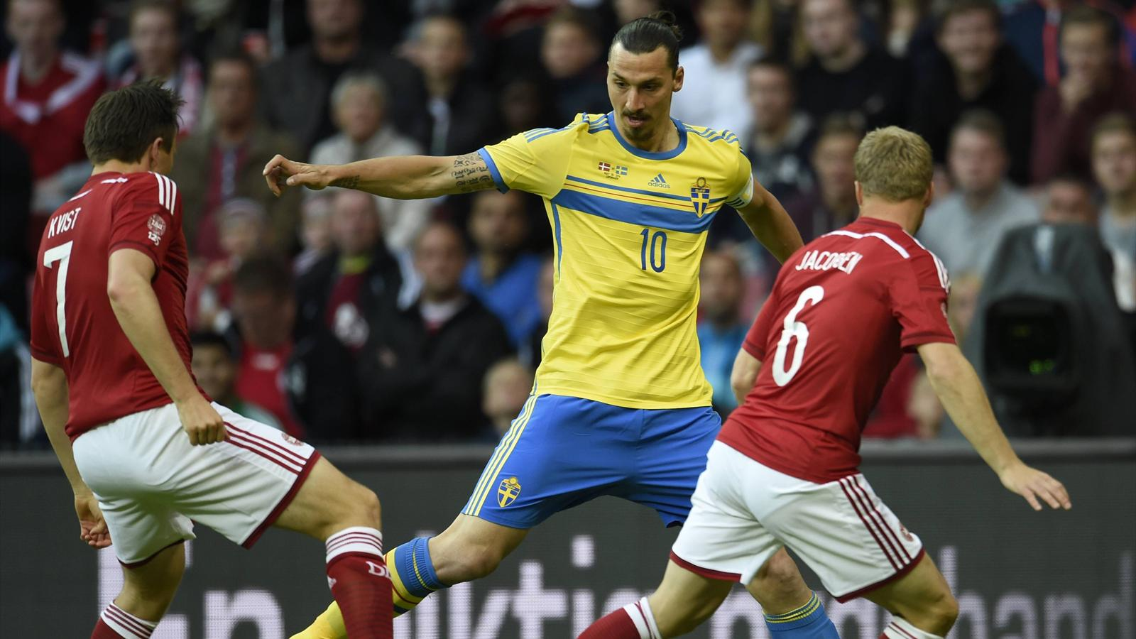 La su de d 39 ibrahimovic face au danemark en matches de - Qualification coupe du monde en afrique ...