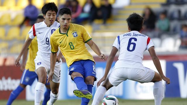 Mundial Sub 17: Pinchazo de Brasil y triunfó de Nigeria en la jornada inaugural