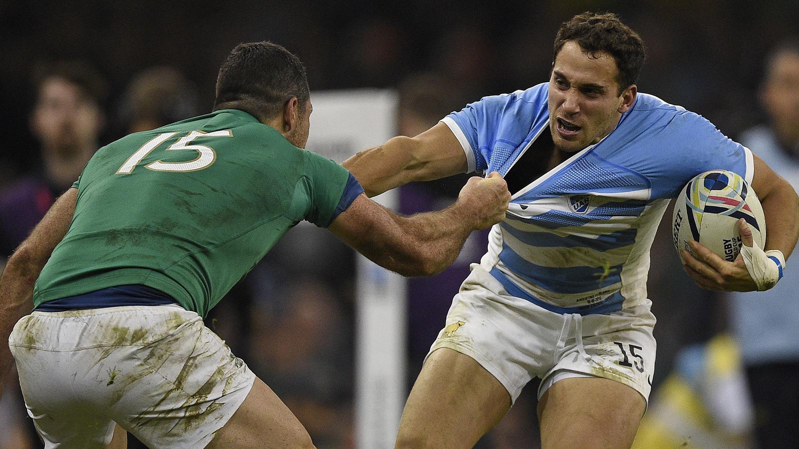 Joaquin Tuculet - Arrière de l'Argentine contre l'Irlande - 18 octobre 2015