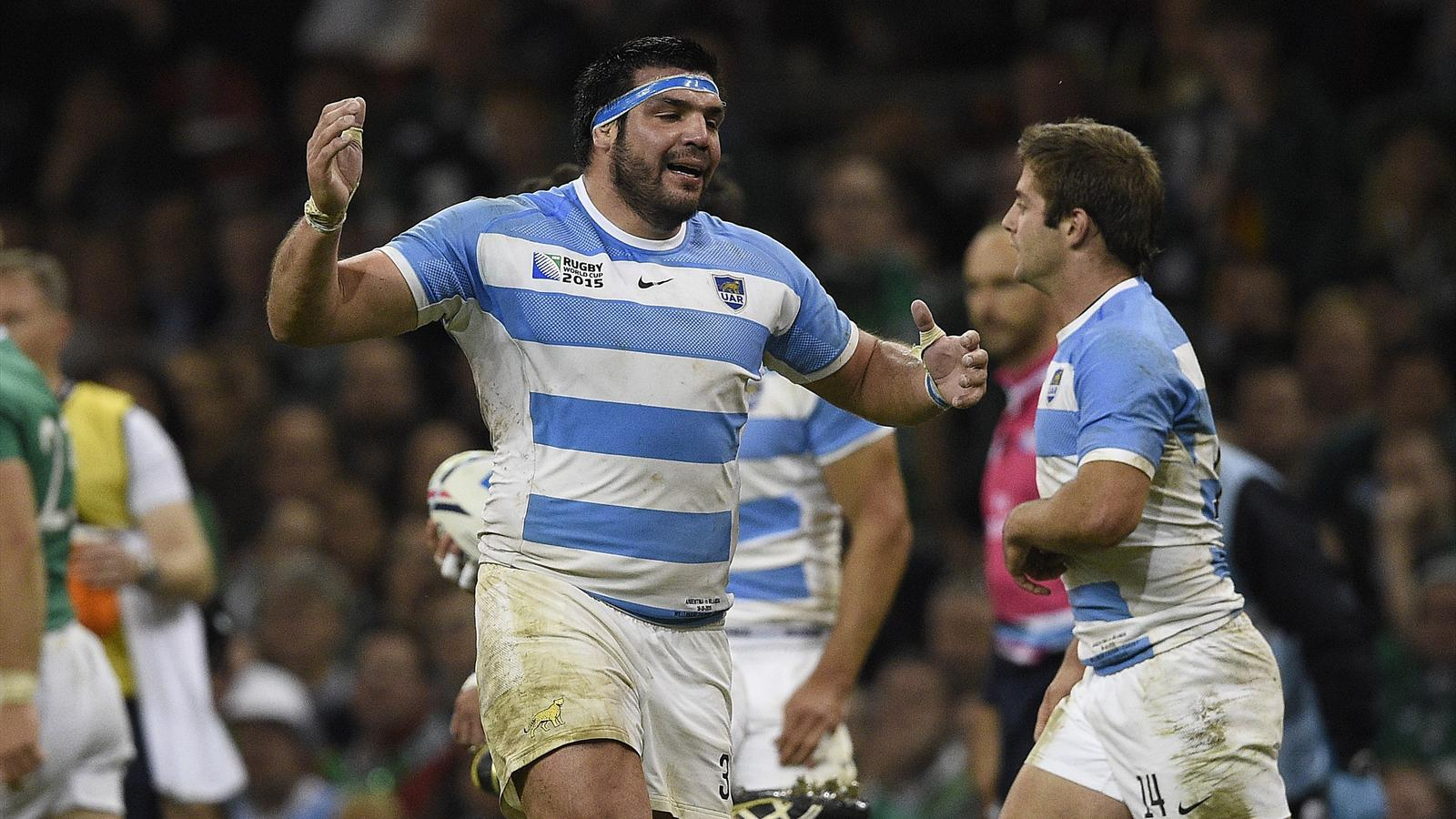 Le pilier argentin, Ramiro Herrera, a pris un gros risque contre l'Irlande - 18 octobre 2015