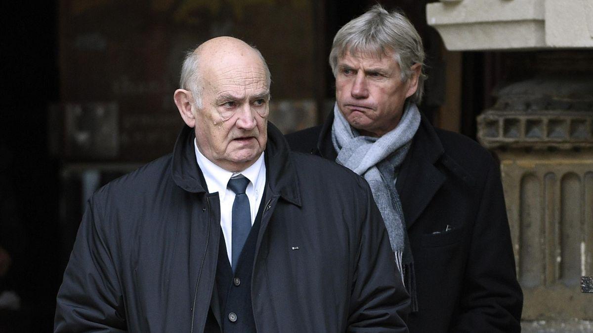 Jean-Claude Skrela et le président de la FFR Pierre Camou