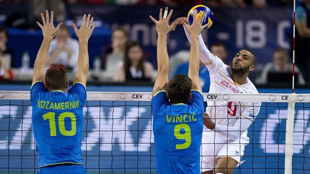 EN DIRECT : La France mène 2 sets à 0 contre la Slovénie en finale